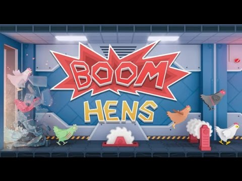 Boom Hens - Игра которая вас затянет на Android