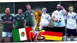 Deutschland vs Mexiko WM 2018 Fußball Challenge | PMTV