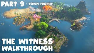 The Witness Walkthrough Part 9/ Town Trophy