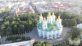 Санкт-Петербург утром, съемка с воздуха(, 2013-08-01T06:23:16.000Z)