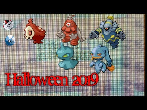 Live!! Shiny Duskull And Shuppet (Pokemon Ruby/Emerald) (Halloween 2019)