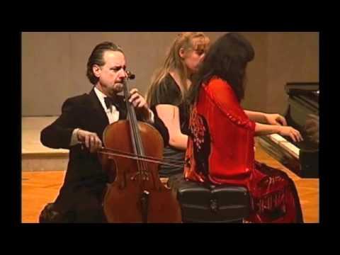 Auerbach Sonata for Cello and Piano, 2nd Movement, David Finckel and Wu Han