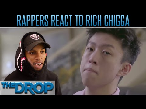 Rappers React to Viral Asian Drill Artist - The Drop Presented by ADD