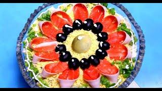 Салат из крабовых палочек Все гости думали что это красная рыба