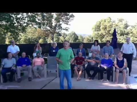 BNI Clinton ALS Ice Bucket Challenge At Beaver Brook Country Club