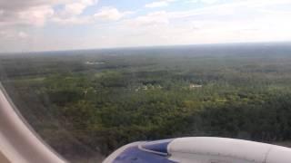 Jetblue, New York, JFK to JAX Jacksonville Internation Airport , Embraer 190