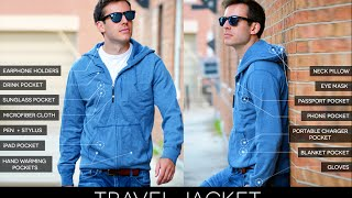 The World's Best TRAVEL JACKET with 15 Features - LIVE on Kickstarter