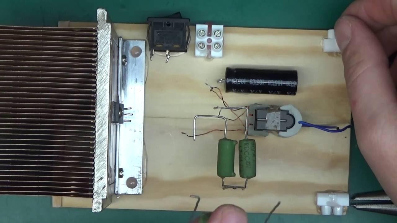 High Voltage DIY easy and simple generator build