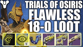Destiny: Trials Of Osiris 18-0 Flawless Looting Results - Exotics & Legendary (Lighthouse Rewards)