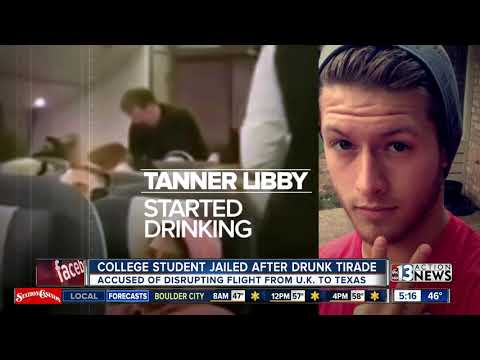 College student jailed after plane incident