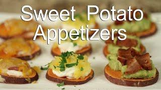 Healthy Sweet Potato Appetizer | Sweet Potato Toast | Rockin Robin Cooks
