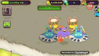 """My Singing Monsters cantano : """"faded"""" di Alan walker + spartito"""