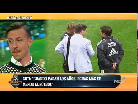 """Guti: """"Cada día ME ARREPIENTO MÁS de haberme retirado tan pronto del fútbol"""""""