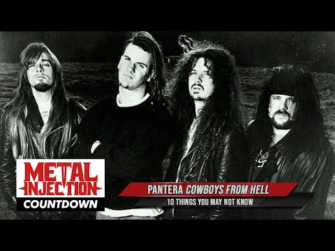 10 Things About PANTERA's 'Cowboys From Hell' You May Not Know | Metal Injection
