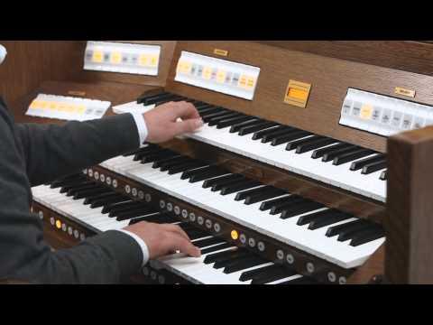 Finale (Water Music Suite) by Georg Friedrich Händel played on the new Johannus Vivaldi 350