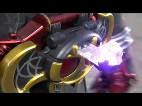 Kamen Rider Kiva Dogga Form Henshin - 13.9KB