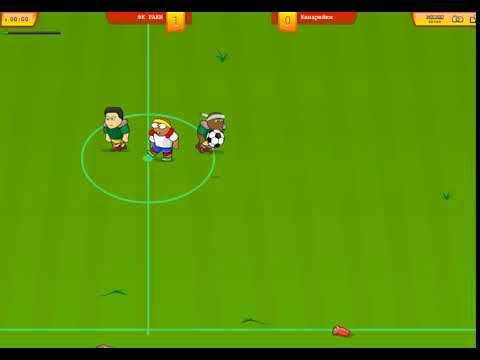 игра в вк Футбол без правил, гол Дзюбы
