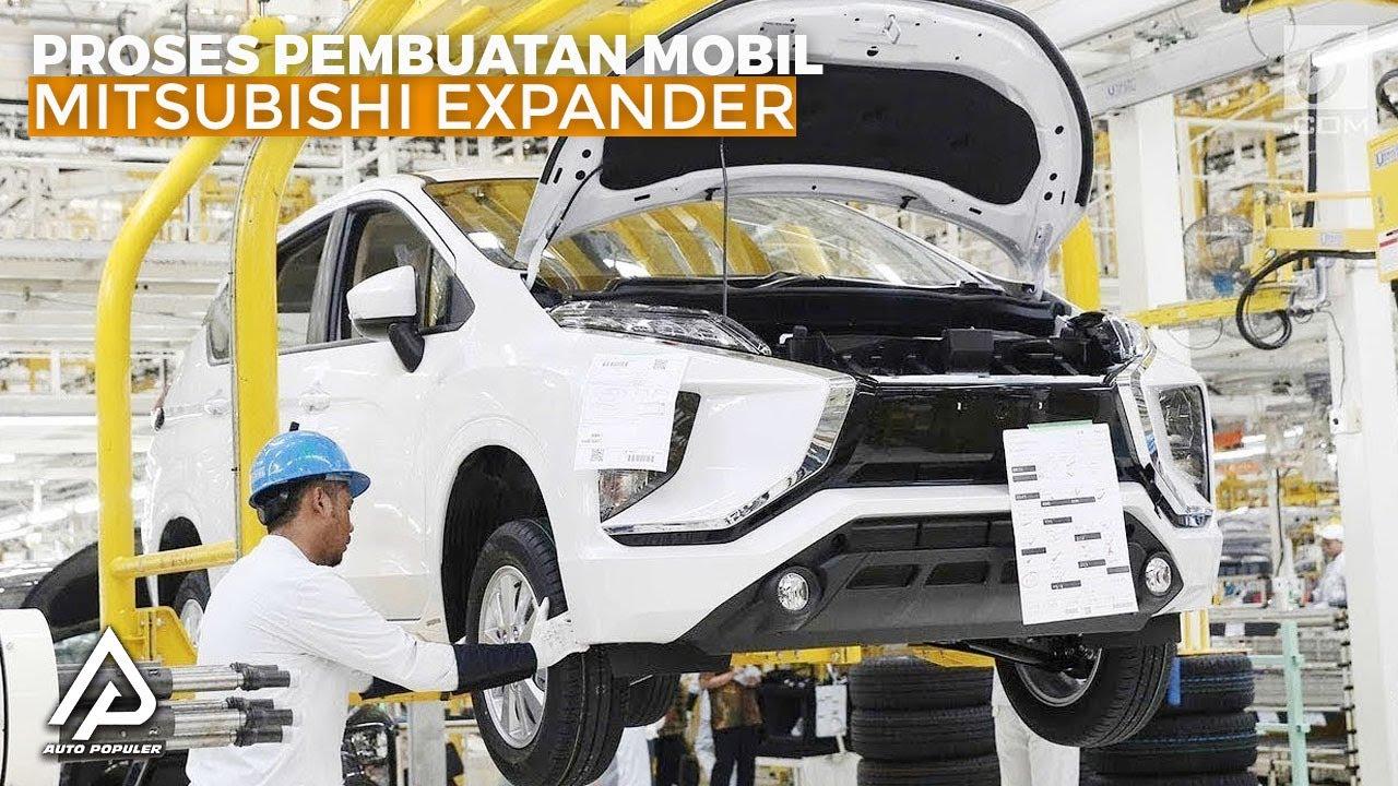 Mobil Terbaik di Kelasnya! Begini Proses Pembuatan Mitsubishi Xpander di Pabrik Bekasi
