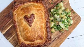 HOW TO MAKE SALMON EN CROUTE - EASY AT HOME RECIPE