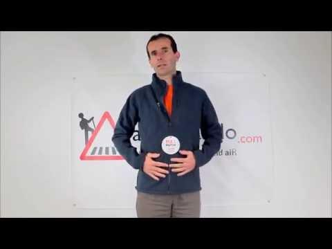 Rayonrando.com : Présentation de la polaire Access Zip In de Lafuma