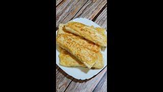 Трубочки из Лаваша на Завтрак