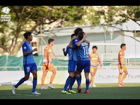 2018 Singapore Premier League: Albirex Niigata FC (S) 2-2 Hougang United FC