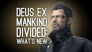 This new Deus Ex Mankind Divided gameplay shows the new cover system new energy system Icarus Dash ability remote hacking charged weapons and