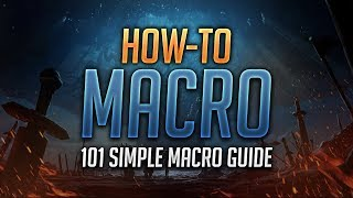 دليل على كيفية إنشاء ماكرو - العالم من علب: المعركة من أجل ازيروث