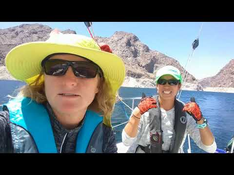 Sailing Lake Mead: Over 77 mile endurance race!