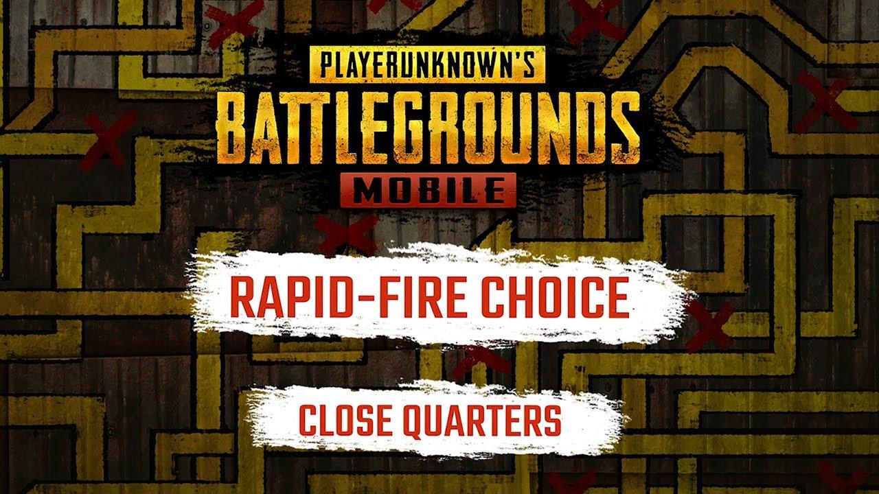 PUBG Mobile - Rapid-Fire Choice: Close Quarters Combat Exclusive Trailer