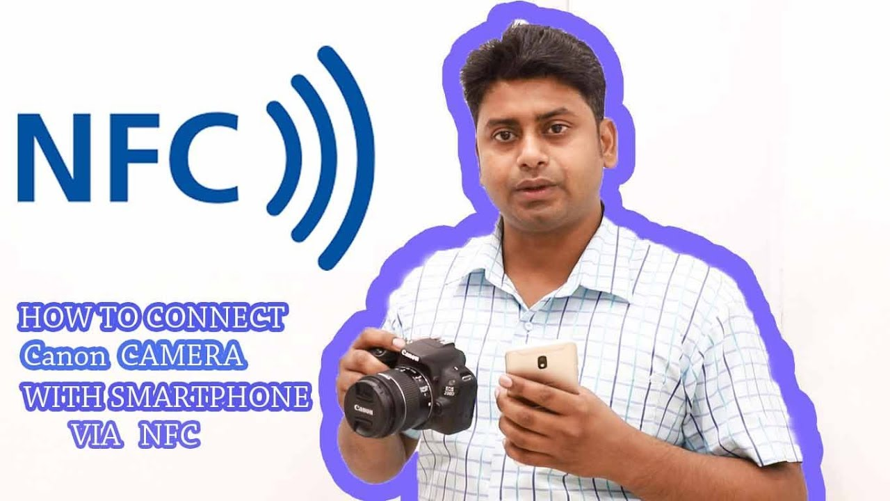 How to transfer photos from camera to phone via nfc