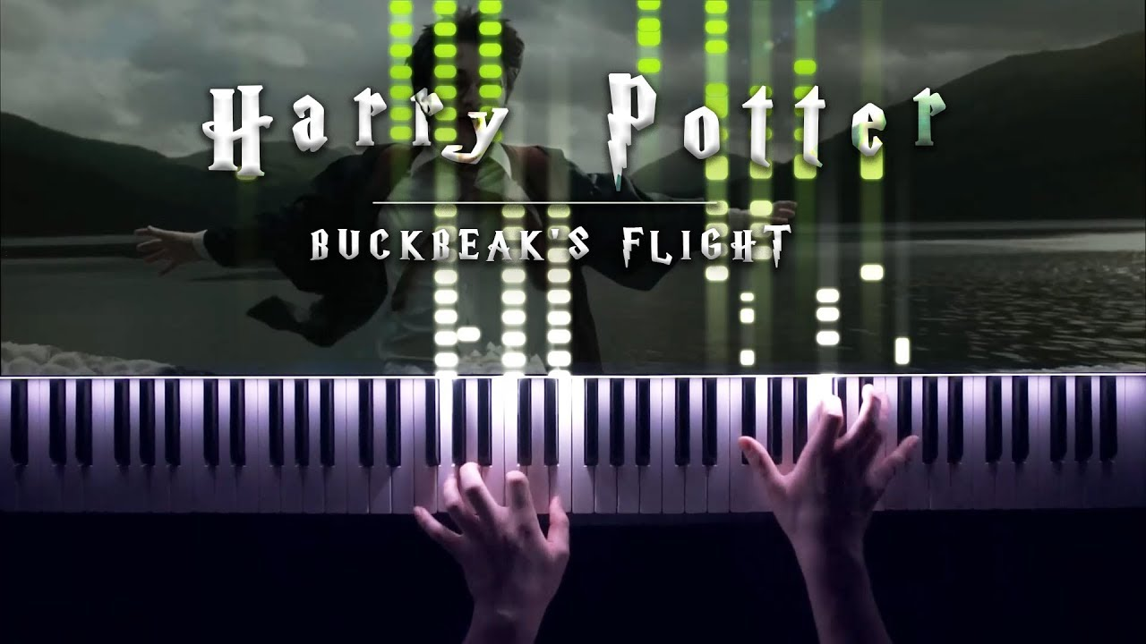 John Williams - Buckbeak's Flight [VIRTUOSIC Piano Solo!]