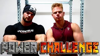 SIM1WORKOUT vs DANNY LAZZARIN | PowerChallenge #3