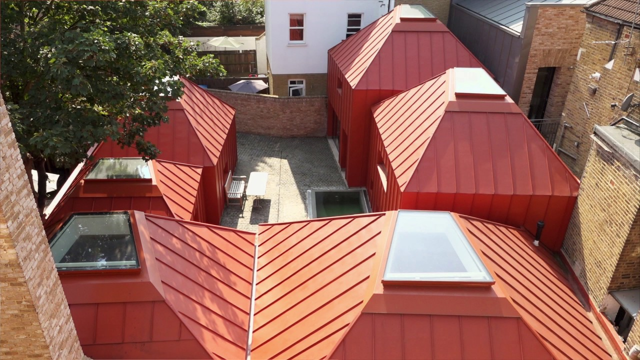 Winning Future >> Award-winning architecture – the Tin House, London, made with sustainable GreenCoat steel - YouTube