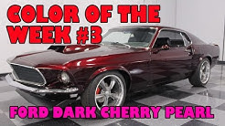 Ford Dark Cherry Pearl, color of the week #3