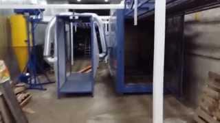 Оборудование для порошковой окраски. Печь полимеризации.