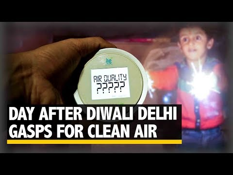 Day after Diwali Delhi Deals with Hazardous Levels of Air Pollution | The Quint
