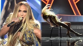 Jennifer Lopez Performs SEXY Medley of Hits & Accepts 2018 VMA Vanguard Award