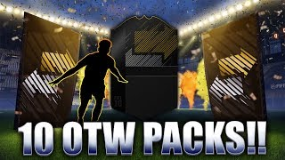 10X OTW WINTER PLAYERS PACK OPENING! FIFA 18 ULTIMATE TEAM