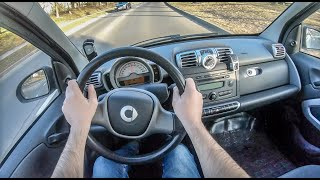 Smart Fortwo II | 4K POV Test Drive #174 Joe Black