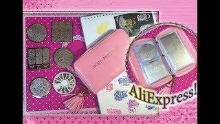 Органайзер Born Pretty для квадратных,круглых и прямоугольных пластин с Алиэкспресс / AliExpress.