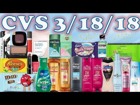 PRODUCTOS GRATIS!!   Plan de Ofertas en CVS 3/18/18 - 3/24/18