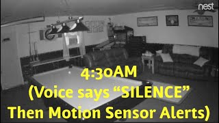 Paranormal Activity and Voice Captured On Nest Cam in Our Garage