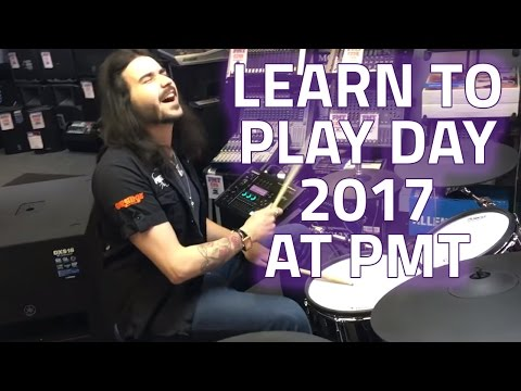 Learn To Play Day 2017 at PMT - Free Music Lessons at all PMT Stores