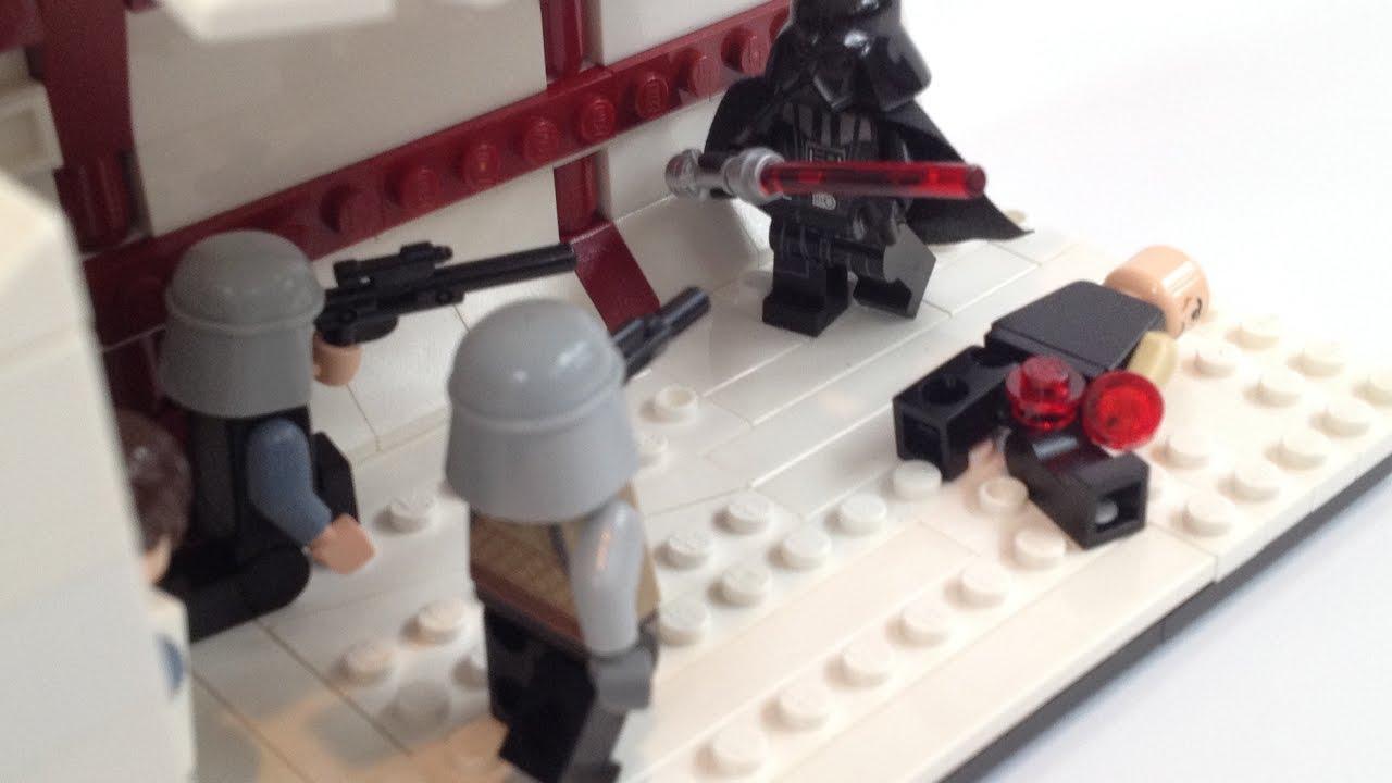 lego star wars rogue one vader 39 s rage moc youtube. Black Bedroom Furniture Sets. Home Design Ideas