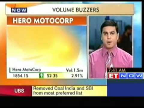 Stocks In News : Coal India, Hero MotoCorp, JSPL