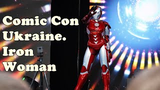 Comic Con Ukraine 2019. Iron Woman costume
