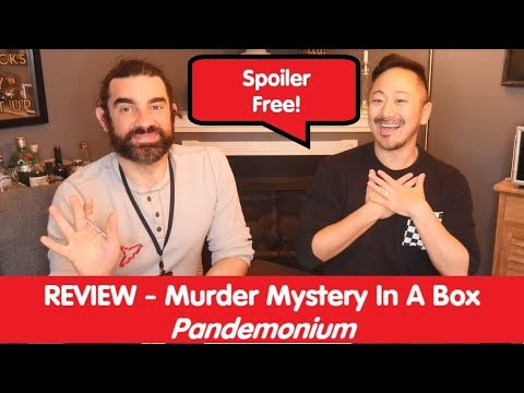 Murder Mystery In A Box | Pandemonium | Review