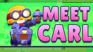 BRAWL STARS CARL GAMEPLAY