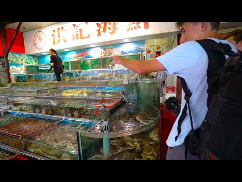 Insane Fish Market In China -- China D.2